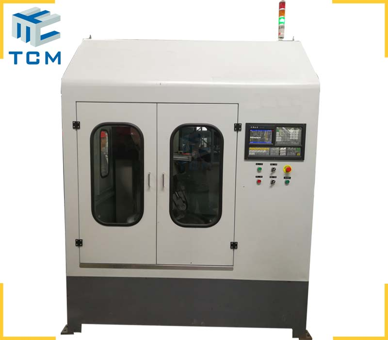 Steel dish head CNC automatic polishing machine