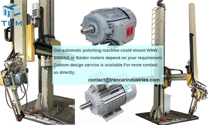What factors make polishing machine grinding head motor over heat?