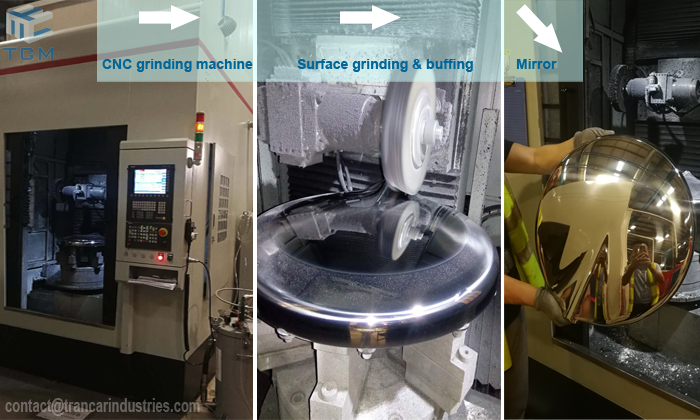 How to reduce the noise when the polishing machine do steel surface grinding?