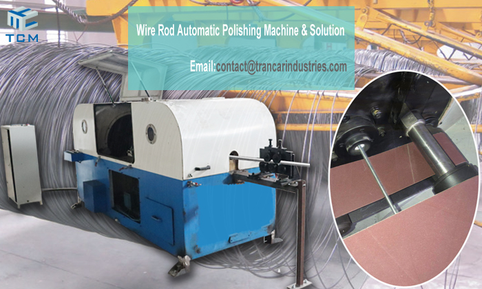 Why wire rod automatic grinding machine belong to environmental equipment?