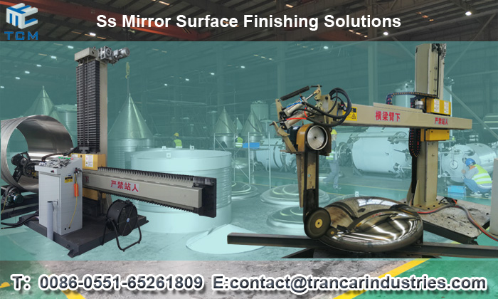 How to get Steel Product surface polishing solutions & grinding machines price from Trancar Industries?
