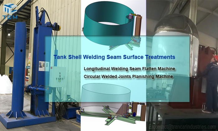 Factory price auto planishing machine welding seam flatten machine CN