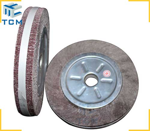 Grinding buffing wheels