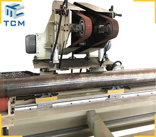 Steel pipe tube automatic polishing machine