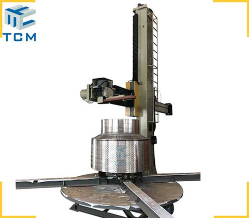 Stainless steel full automatic polishing machine