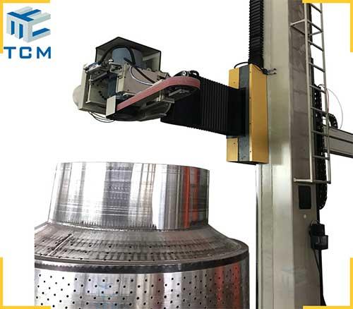 Stainless steel full automatic polishing machine