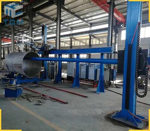 Steel tank automatic Welding machine