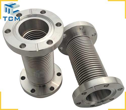 Metal hydroform bellows