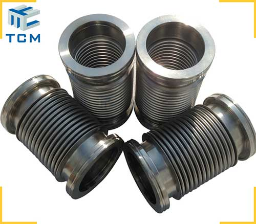 Metal hydroform bellows