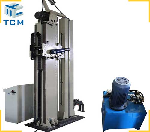 Steel tank longitudinal welding seam crushing machine from China