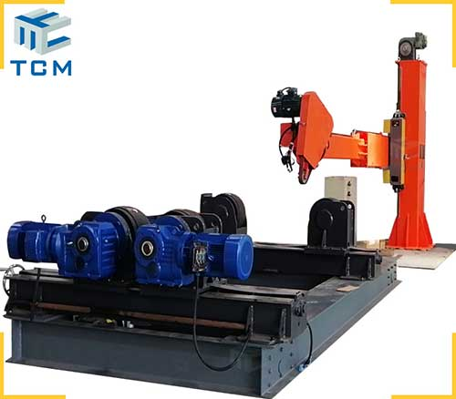 Carbon steel pressure vessel tank welding seam grinding polishing machine