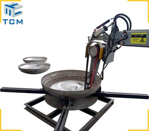 Steel Dish End Interior Surface Automatic Grinding Machine