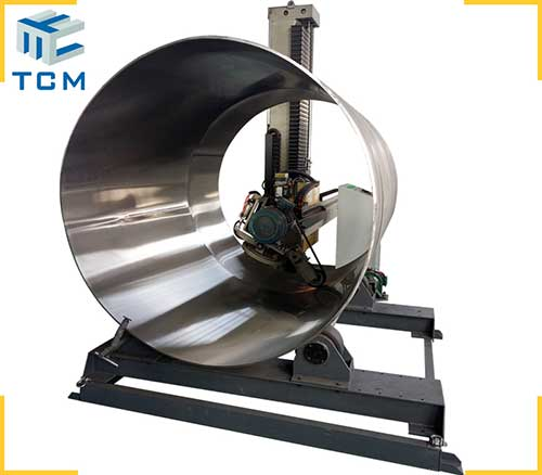 Stainless steel tank shell mirror surface automatic buffing machine