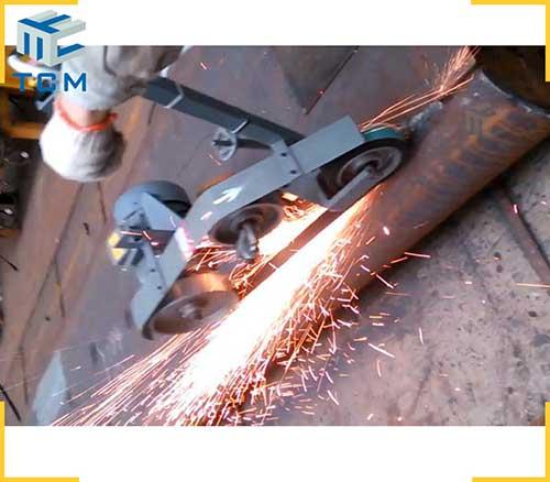 Flat sheet Welded joint grinding machine