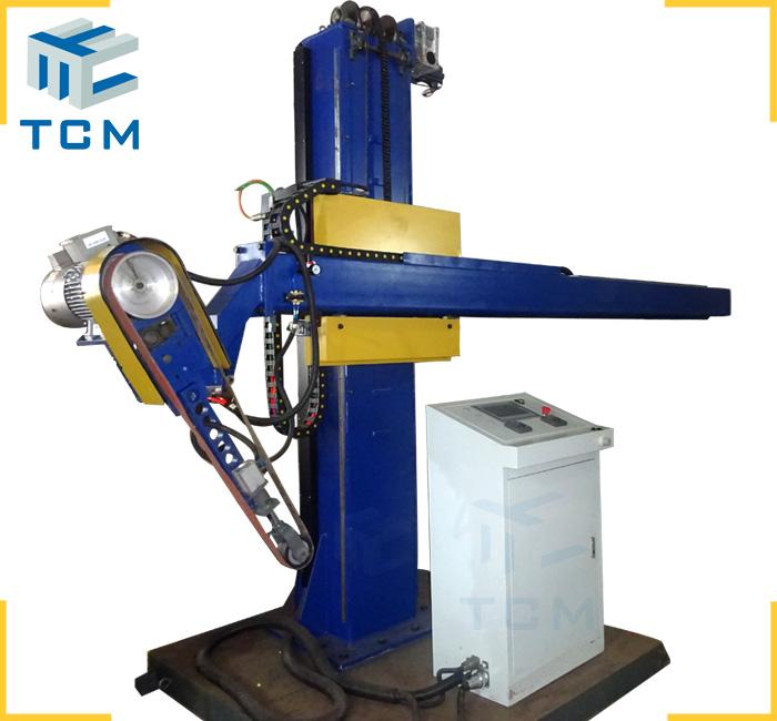 SIMENS PLC automatic Steel cylinder head polishing machine