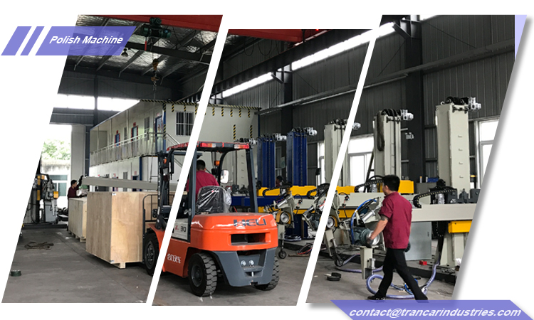 steel tank polishing machine delivery from China machine fabricator workshop  (2).jpg