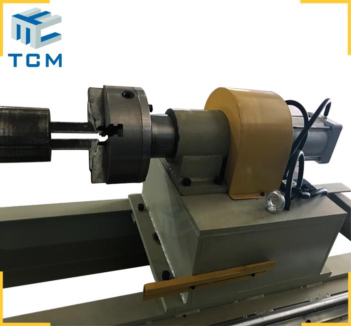 Hydraulic cylinder chromed rod grinding linishing machine