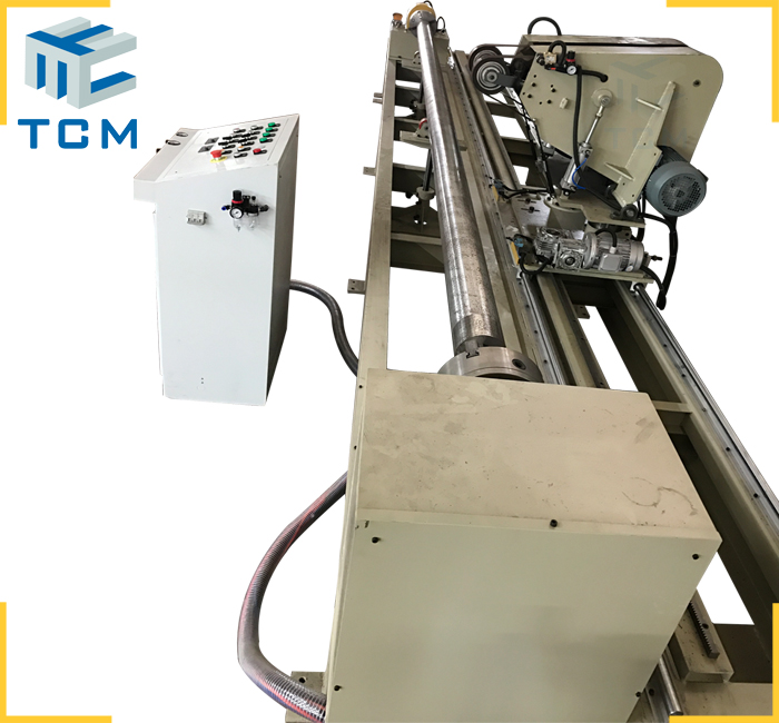 Hydraulic piston automatic polishing machine from Trancar Industries