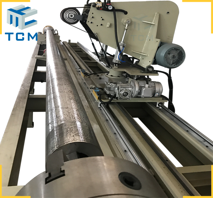 Hydraulic piston automatic polishing machine from Trancar Industries