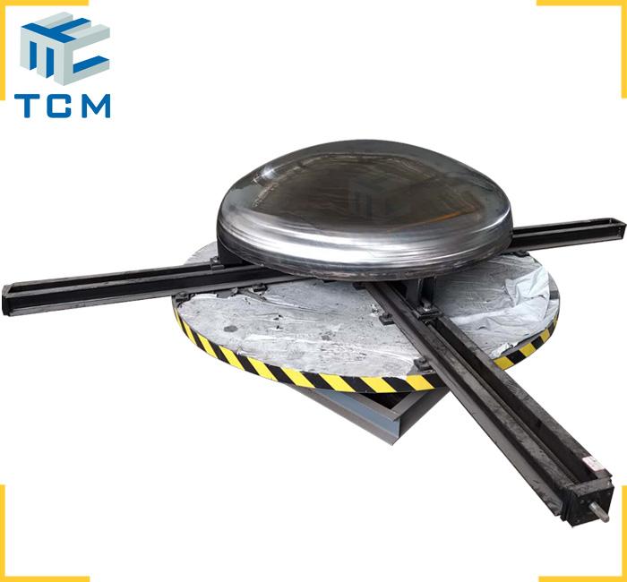 Stainless Steel tank bottom polishing machine automatic steel surface grinding machine