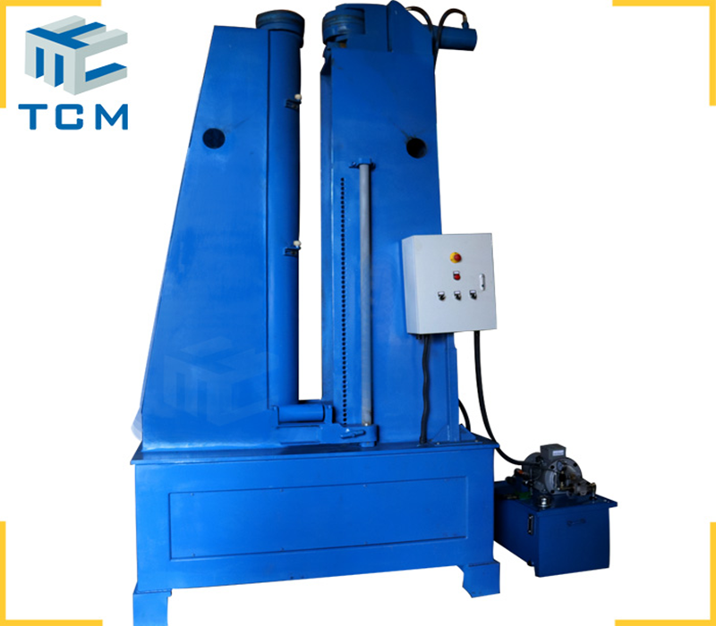 Cylinder circumferential joints planishing machine