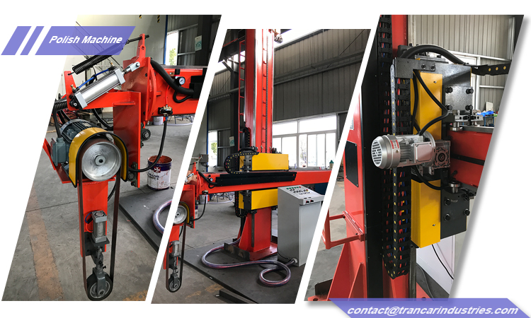 TCM factory price steel dish head grinding equipment for sale