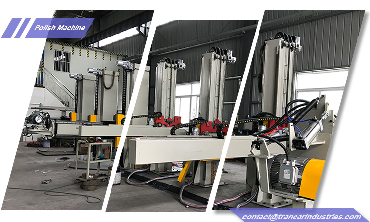China Steel tank automatic polishing machine manufacturer-Trancar Industries