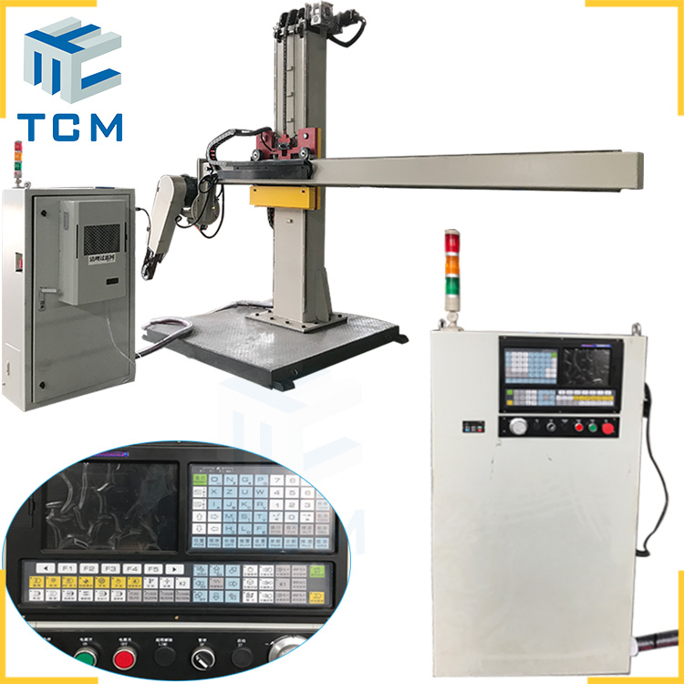 Steel dish end CNC polishing machine from Trancar manufacturer