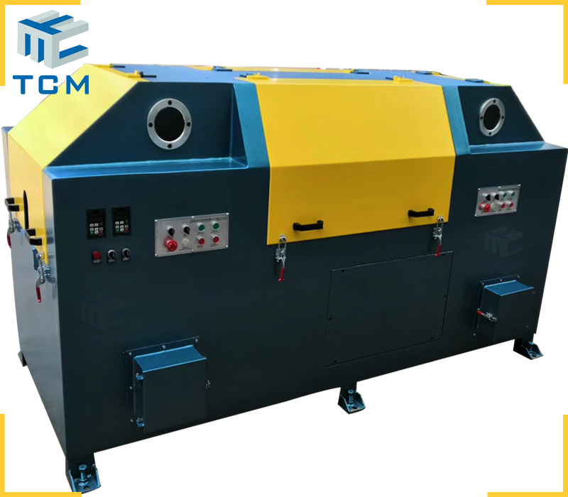 Wire polishing machine for carbon steel alloy aluminum wire surface descaling brighten diameter reduce